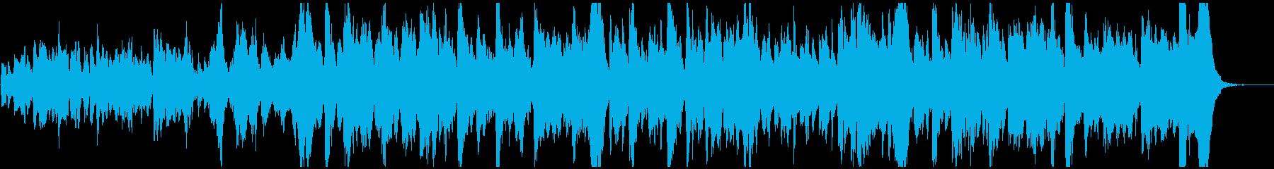 ほのぼのゆったりとしたオーケストラワルツの再生済みの波形