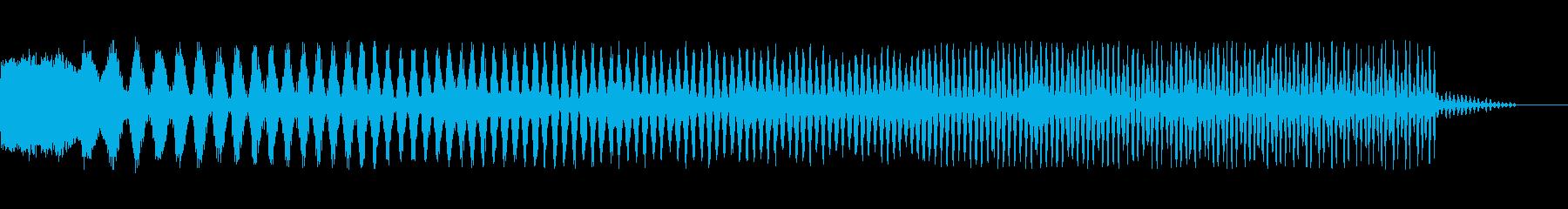 電動スイーパー1の再生済みの波形