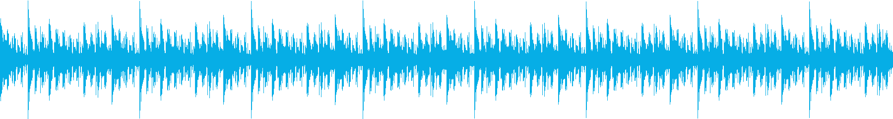 リラックスしたエレピサウンドの再生済みの波形