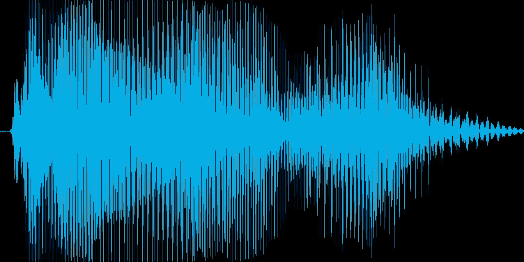タイム!の再生済みの波形