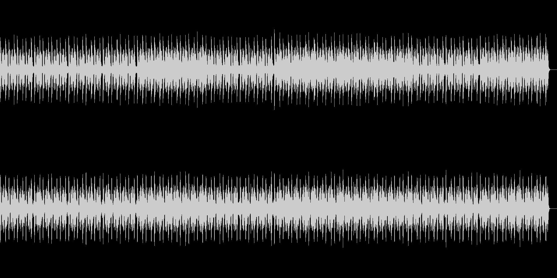 トランス風ドラムンベースの未再生の波形