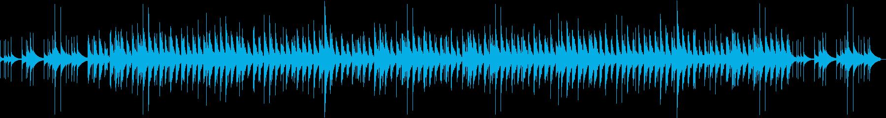 切ないオルゴールの楽曲の再生済みの波形