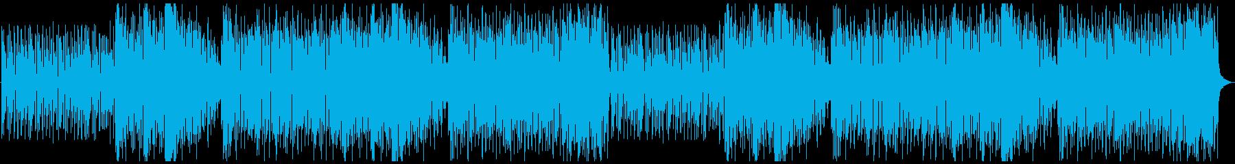 メルヘンチックで楽しい曲の再生済みの波形
