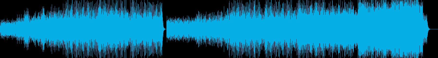 下千鳥音階によるハードコアテクノの再生済みの波形