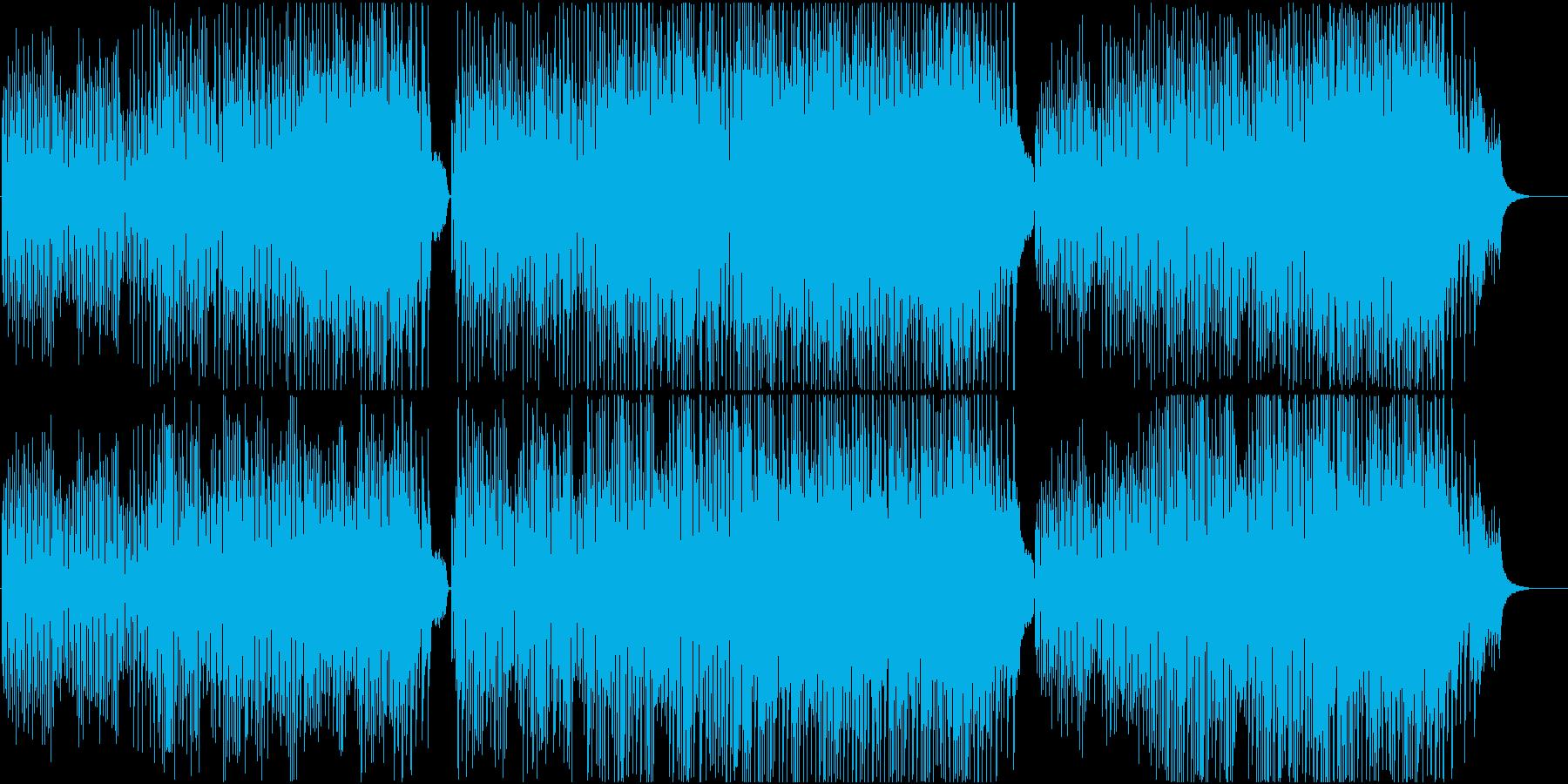 かわいい ほのぼの 子供 ペット のどかの再生済みの波形