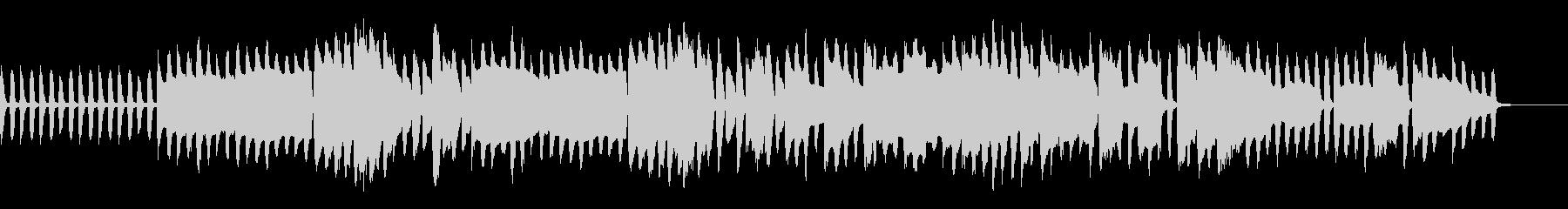 木管楽器メインの日常系BGMの未再生の波形
