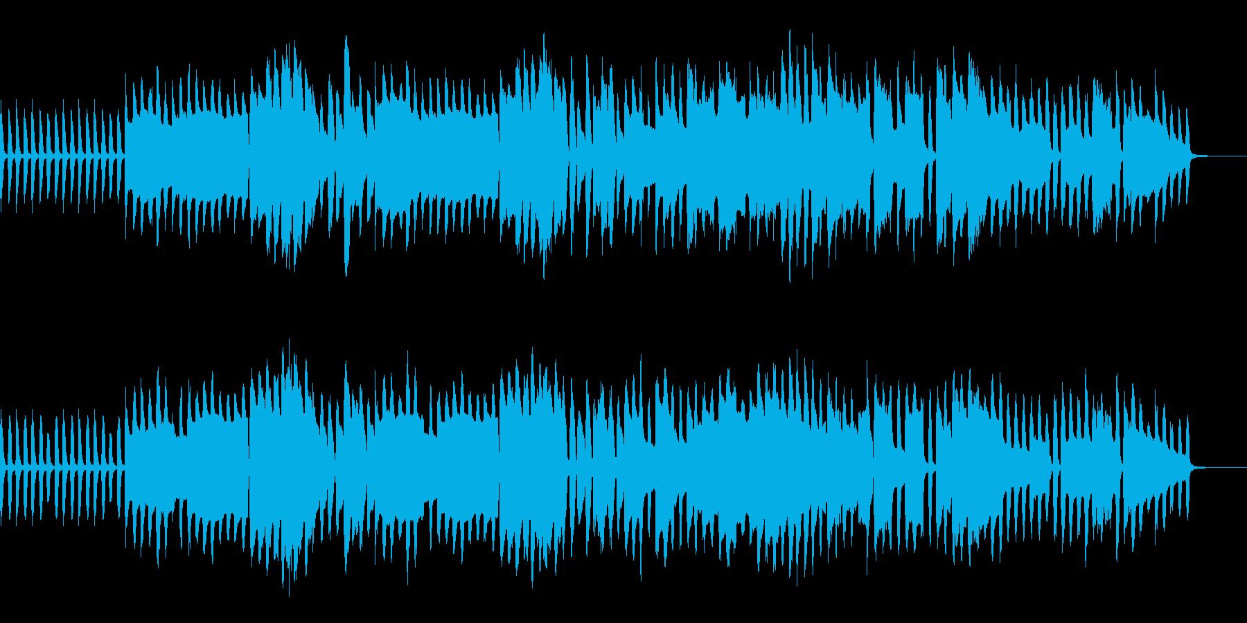 木管楽器メインの日常系BGMの再生済みの波形