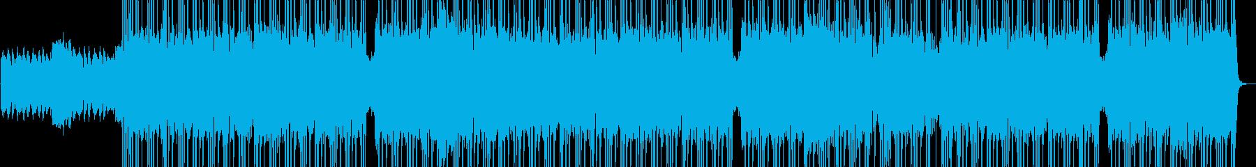 闘志 行進 エネルギッシュ HIPHOPの再生済みの波形