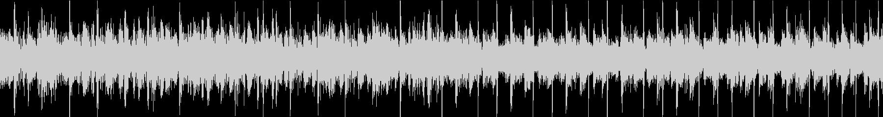 70sグラムロック風BGM ループ仕様の未再生の波形