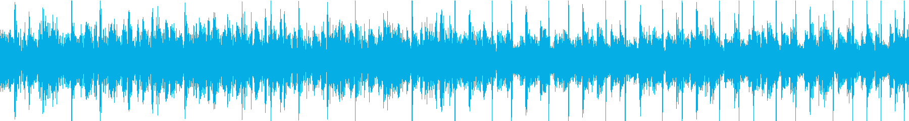 70sグラムロック風BGM ループ仕様の再生済みの波形