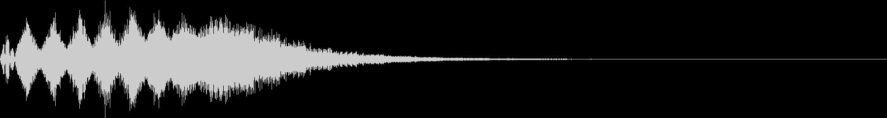 TVFX 目立たせ・アイキャッチ 17の未再生の波形