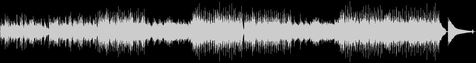 エモーショナルなポストロックの未再生の波形