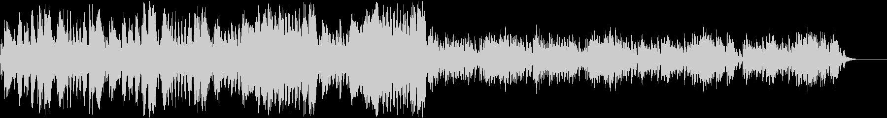 ピアノ協奏曲第17番第3楽章モーツァルトの未再生の波形