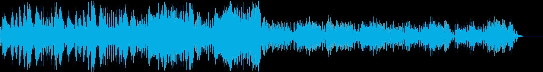 ピアノ協奏曲第17番第3楽章モーツァルトの再生済みの波形