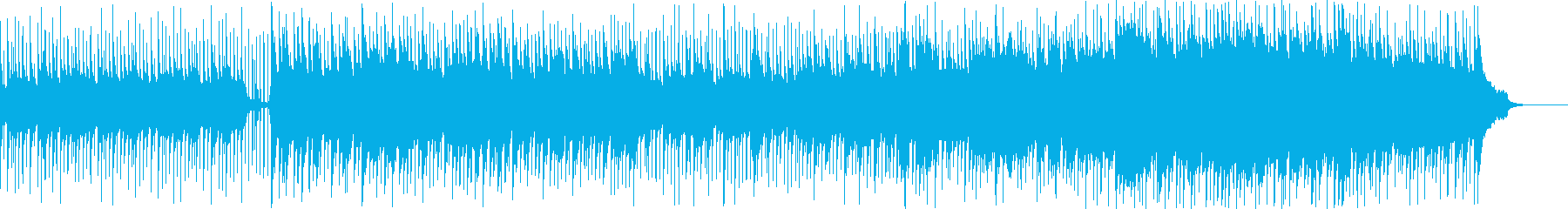 ストーリがある和風バラードの再生済みの波形