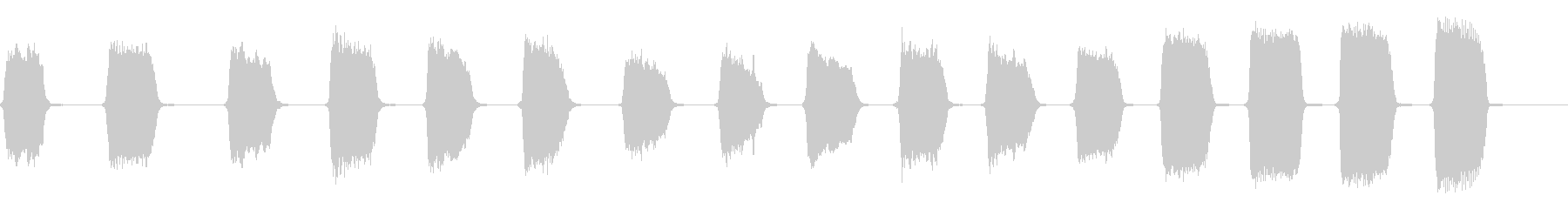 ハーモニカ:ゆっくりとした意図的な...の未再生の波形