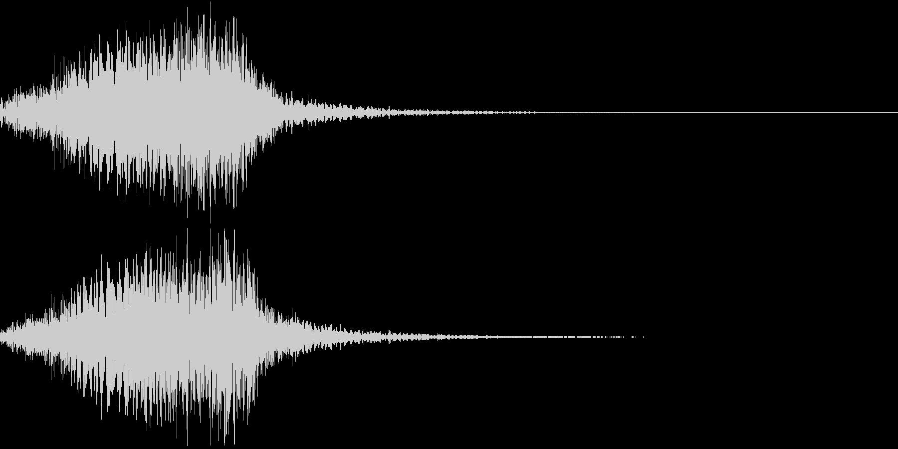 ホラー 近く 接近 恐怖 金属音 20の未再生の波形