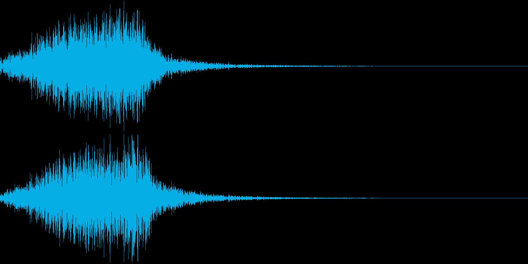 ホラー 近く 接近 恐怖 金属音 20の再生済みの波形