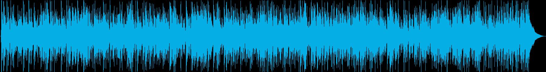爽やかでクール、軽やかなジャズピアノの再生済みの波形