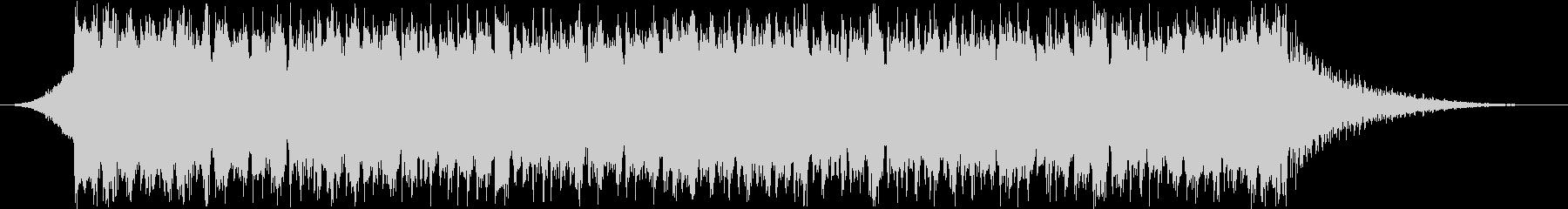 Piano House 2の未再生の波形