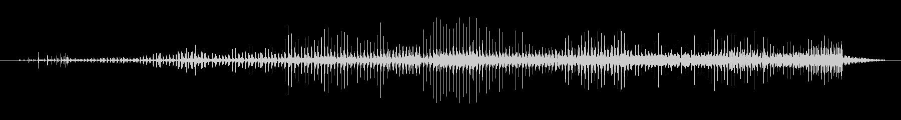 ノイズ オーガニックスカットルロング02の未再生の波形