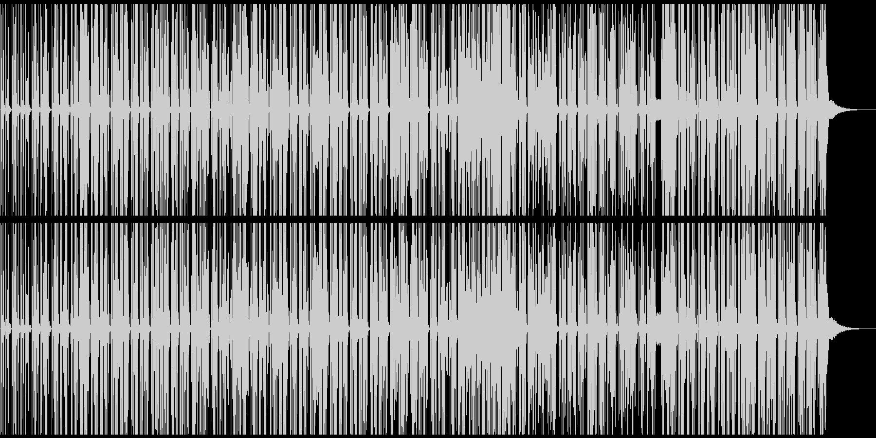 ボサノバ風チャーミングなエレクトロポップの未再生の波形