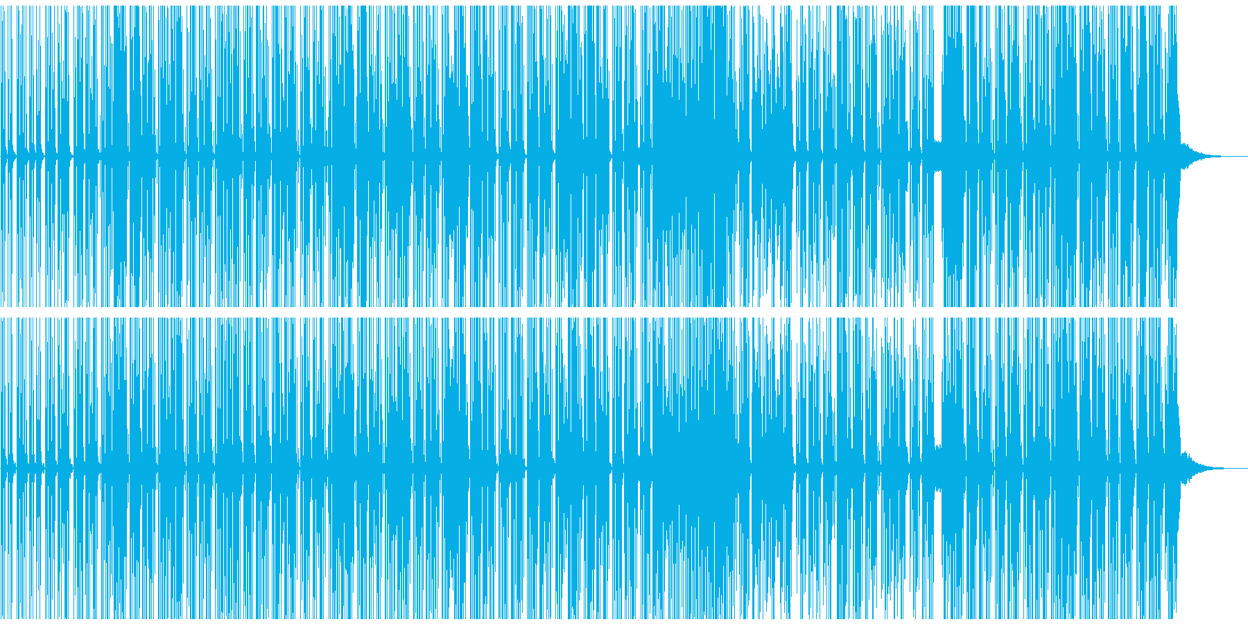 ボサノバ風チャーミングなエレクトロポップの再生済みの波形