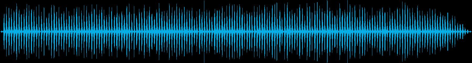 シミュレートされたヘリコプター:ラ...の再生済みの波形