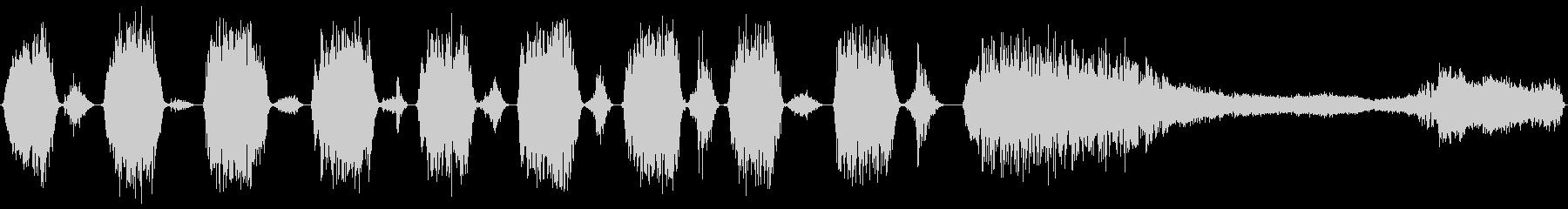 パンティングブレスの鳴き声クリーチ...の未再生の波形