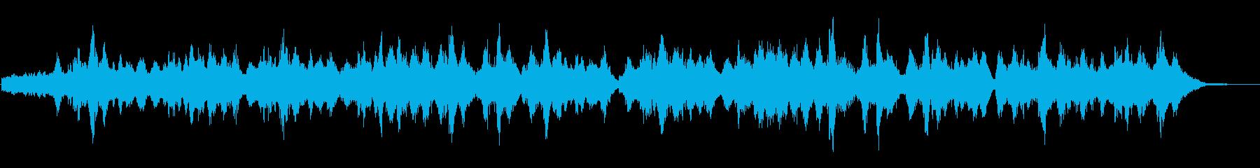 生演奏による二胡のドラマティックな曲の再生済みの波形