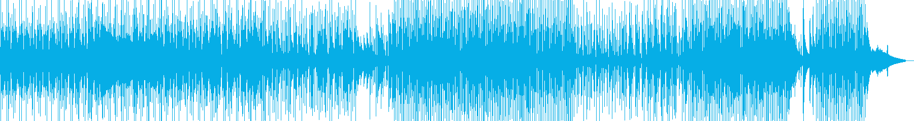 まったり→軽快・ほのぼの作品に 長尺の再生済みの波形