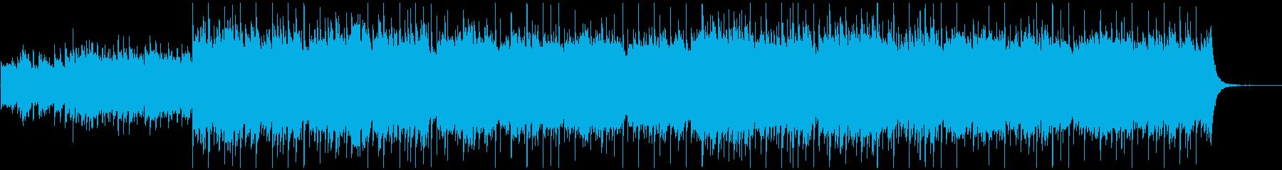 切ないギター・ストリングス曲の再生済みの波形