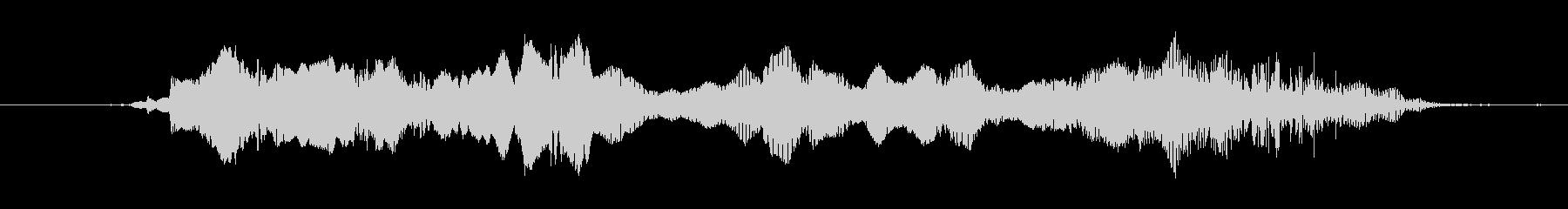 (故障音)の未再生の波形