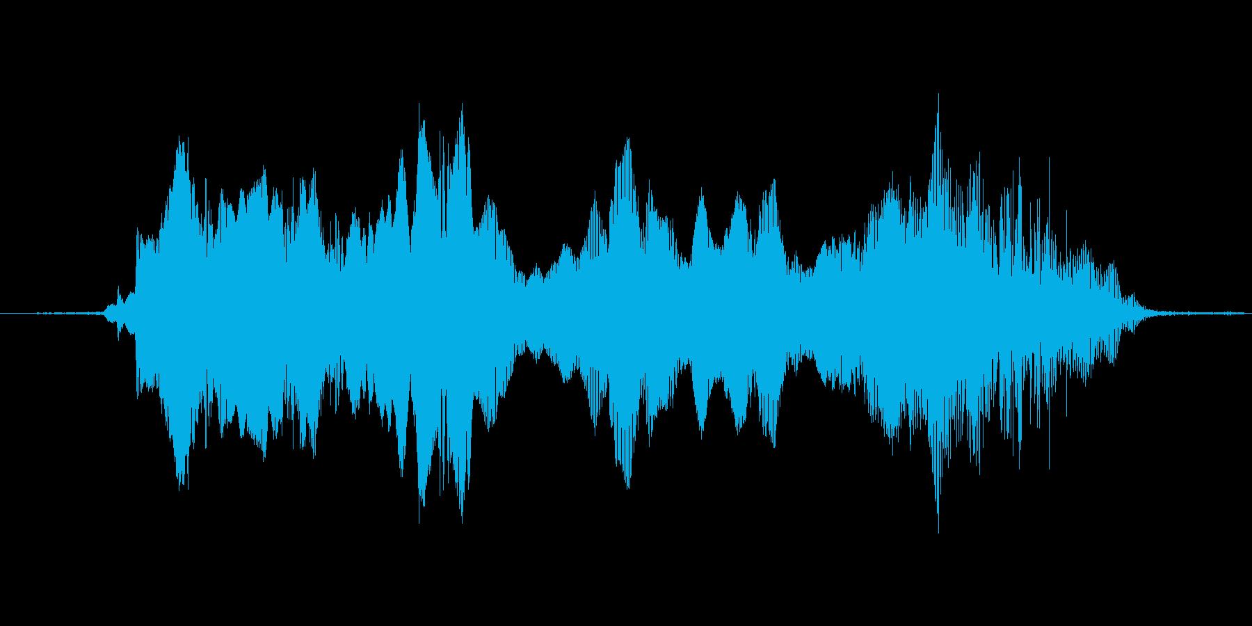 (故障音)の再生済みの波形