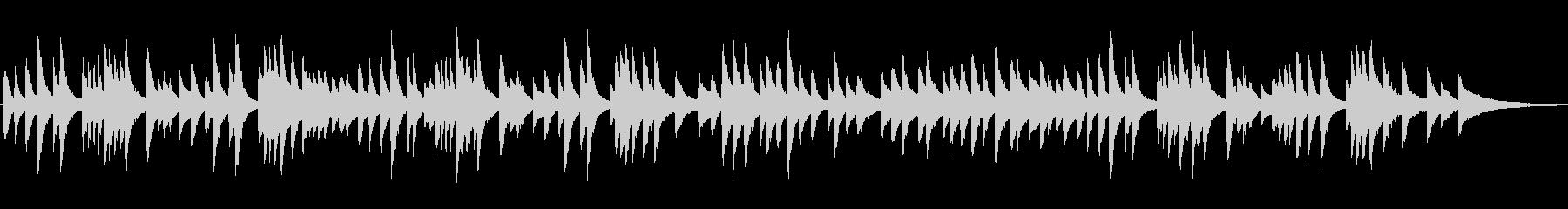 静かなジャズラウンジピアノソロ/バラードの未再生の波形