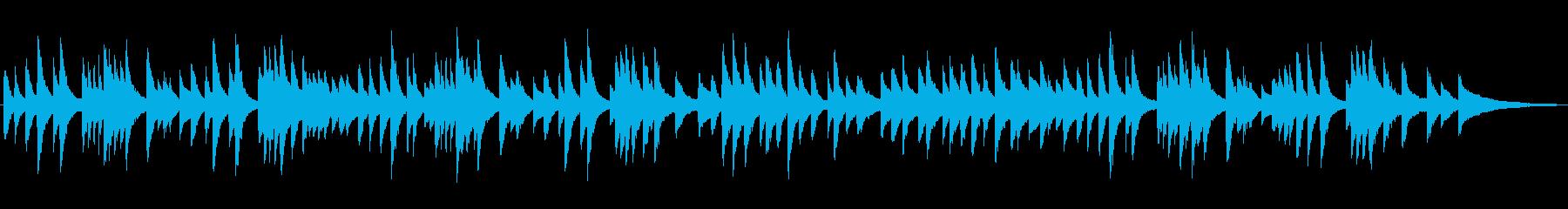 静かなジャズラウンジピアノソロ/バラードの再生済みの波形