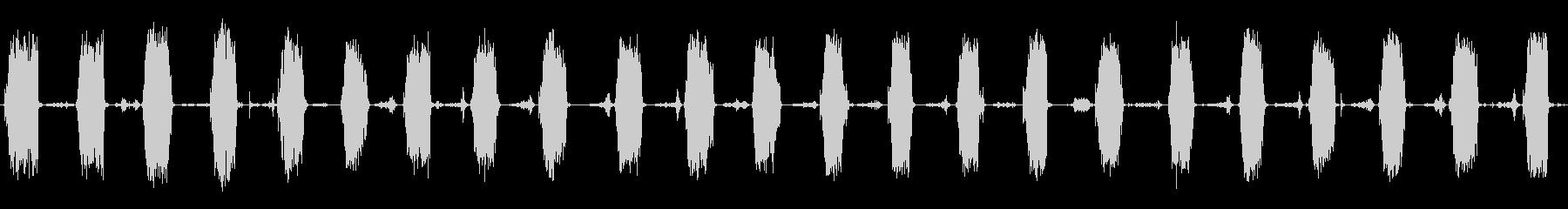 ポンプスプレー:常時スプレーバスルームの未再生の波形