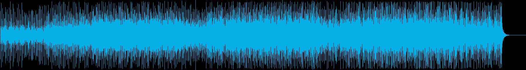 スピード感のあるハウスEDM/ドライブの再生済みの波形