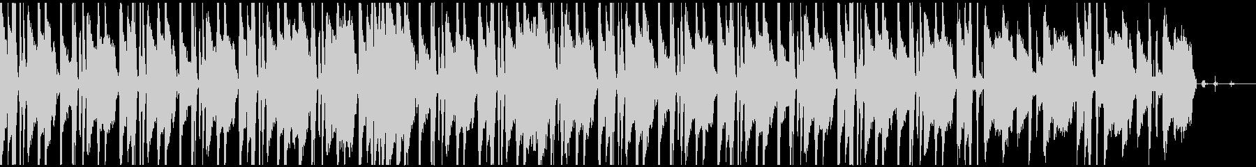 オシャレなローファイサウンドの未再生の波形