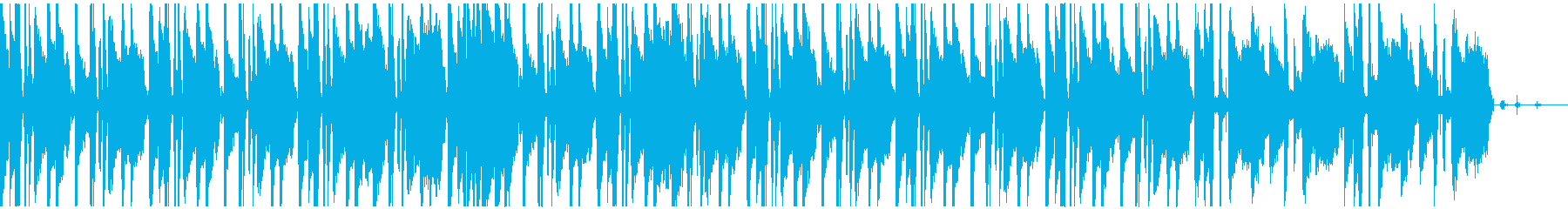 オシャレなローファイサウンドの再生済みの波形