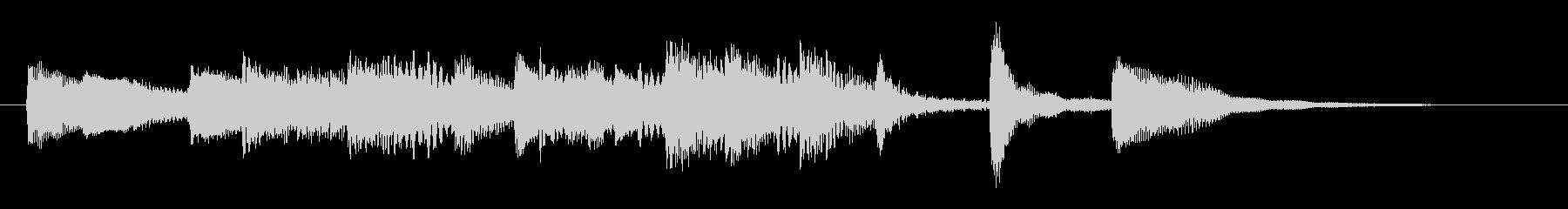 クラシック調モーツァルト風ピアノジングルの未再生の波形