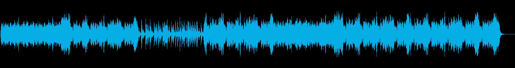 優雅なティータイムのBGMの再生済みの波形