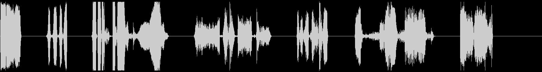 純粋なビニール1-7の未再生の波形