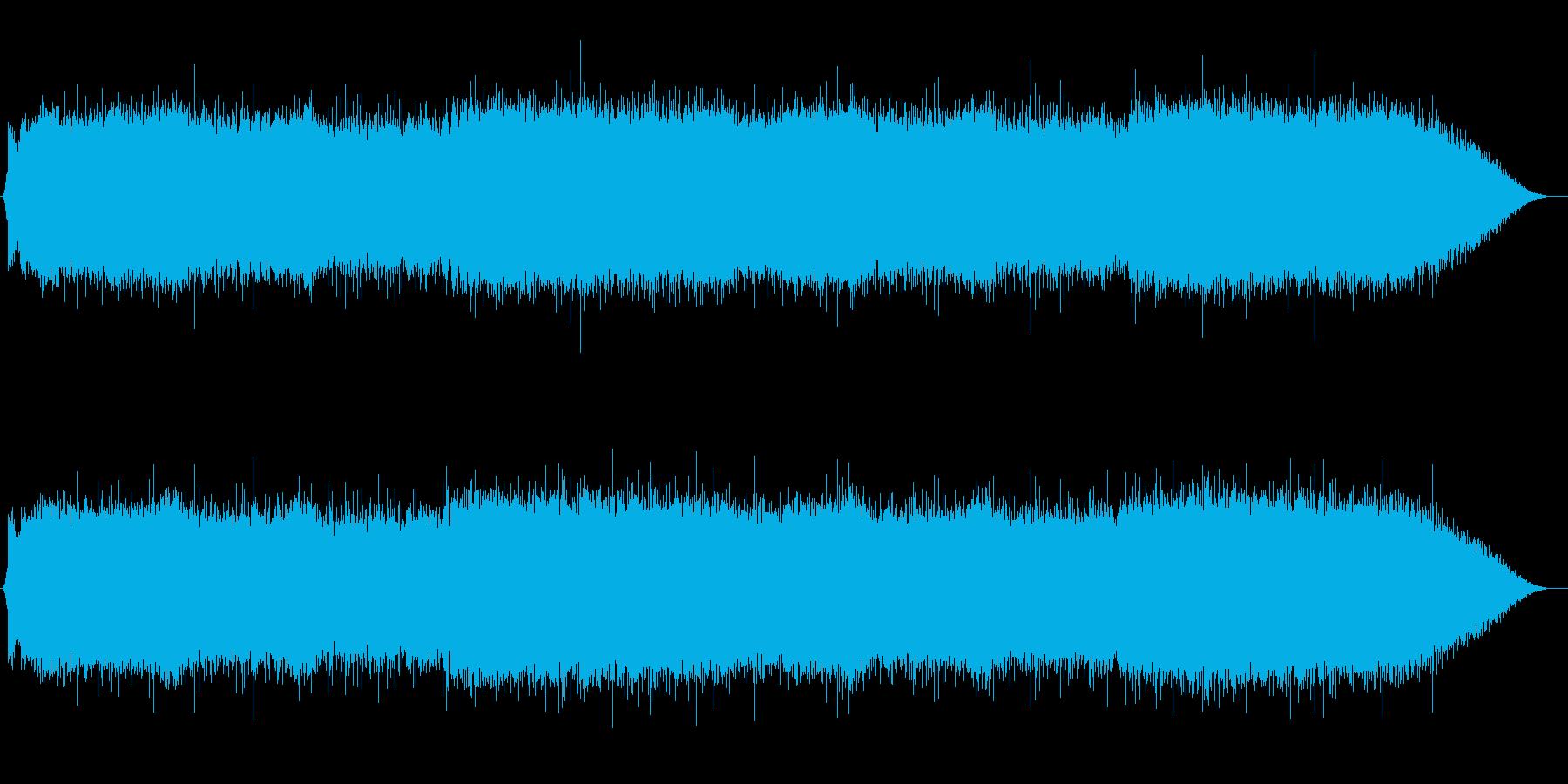 バンドとシンセとストリングスのバトル曲の再生済みの波形