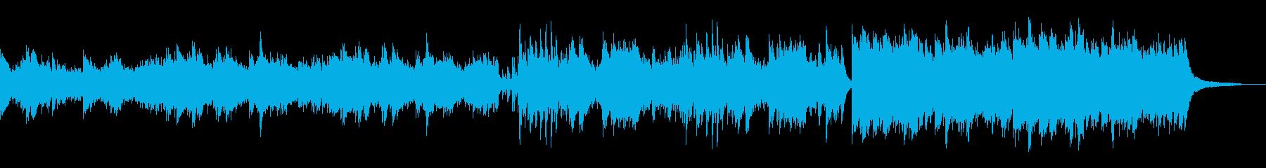 ピアノソロ 優雅 ヒーリング 水 映像の再生済みの波形