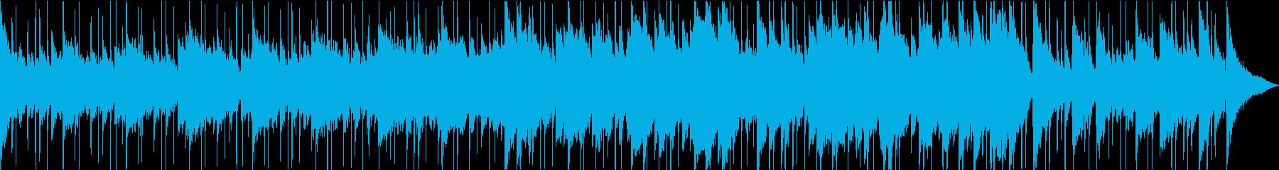 どんより、不穏な曲ですの再生済みの波形