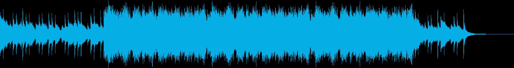 ゲーム用BGM(アジア民族楽器)の再生済みの波形