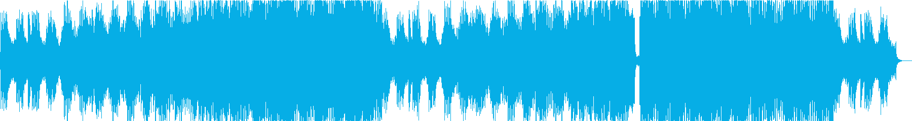 Cool Japanese-style EDM! Sprinting feeling opening's reproduced waveform