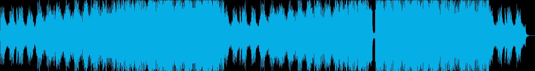 かっこいい和風EDM!疾走感オープニングの再生済みの波形