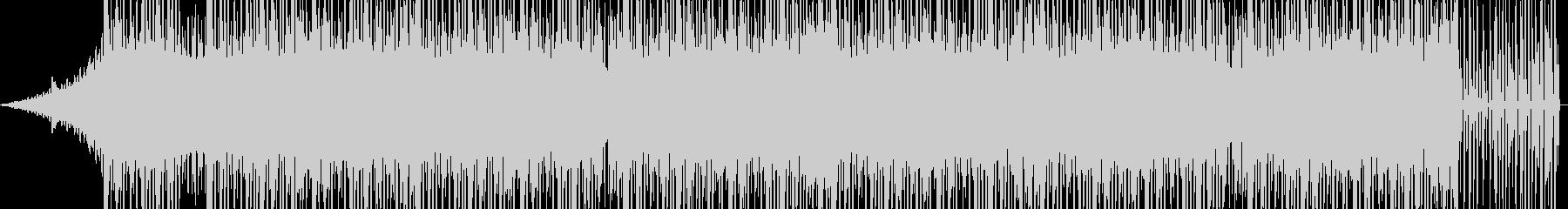 90s系ビートの未再生の波形